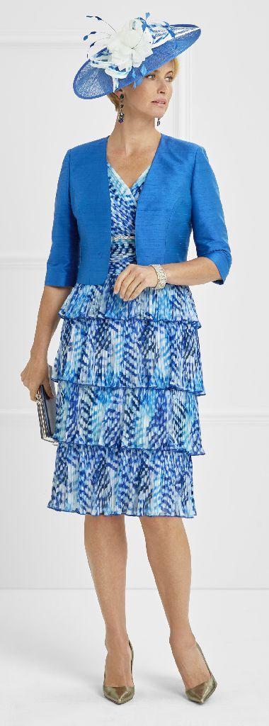 Condici 11340 Cobalt Dress and Jacket
