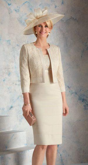 Condici 70916 Praline Dress & Jacket
