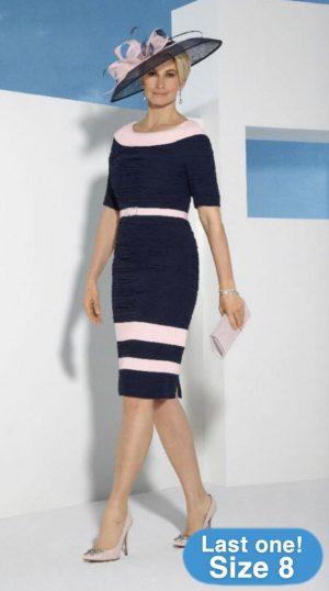Condici 70961 Pink Macaron, Navy Dress