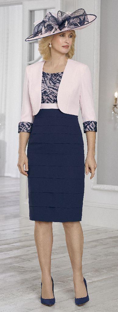 Condici 71025 Rosewater Dress & Jacket