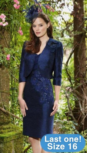 Condici 90302 French Navy Dress & Jacket