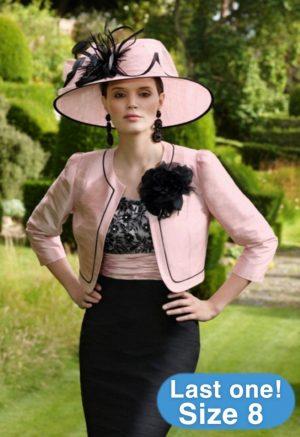 Condici 90308 Pink Innocence & Black Dress & Jacket