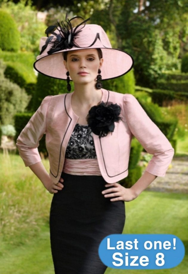 Condici 90308 Pink Innocence & Black Dress & Jacket