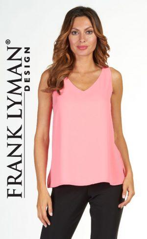 Frank Lyman 171161 Salmon Polyester Top