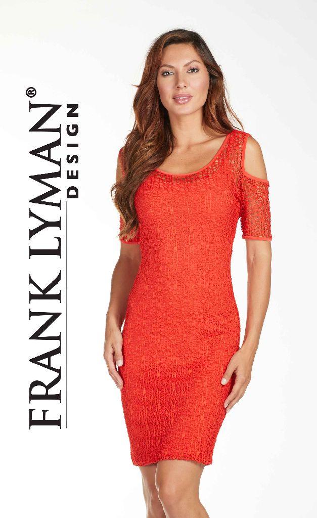 Frank Lyman 171272 Orange Dress
