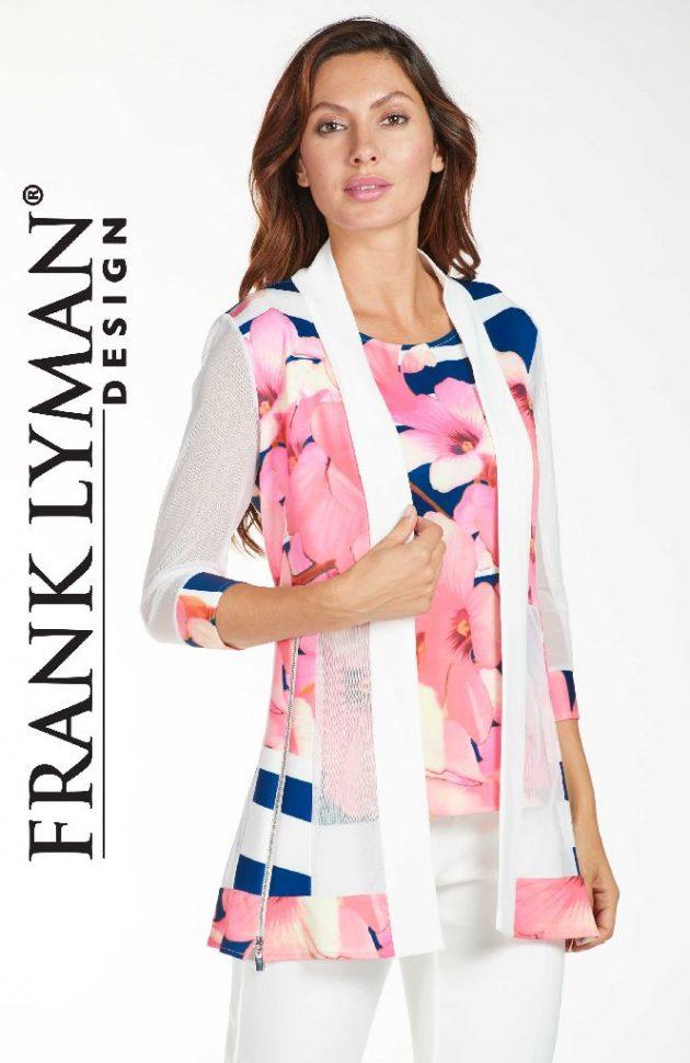 Frank Lyman 171394 Floral Long Jacket