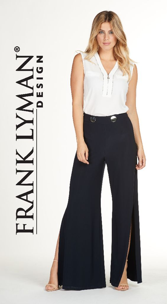 Frank Lyman 176065 Navy 2 Buttons Trousers