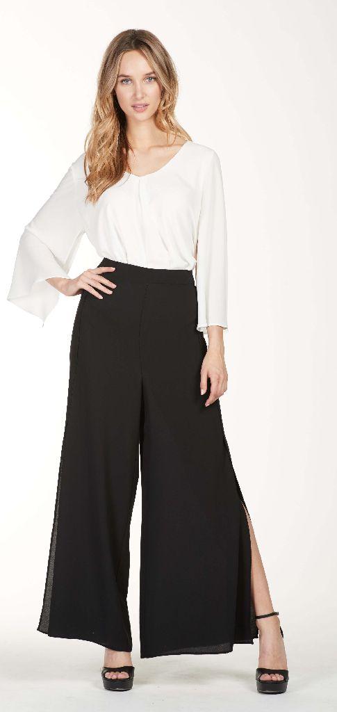 Frank Lyman 176173 Black Full Trousers