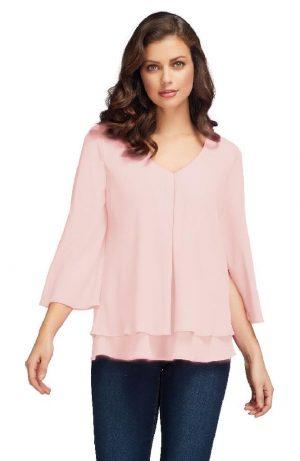 Frank Lyman 1763355 Pink Blouse