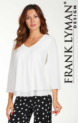 Frank Lyman 176335 White Top