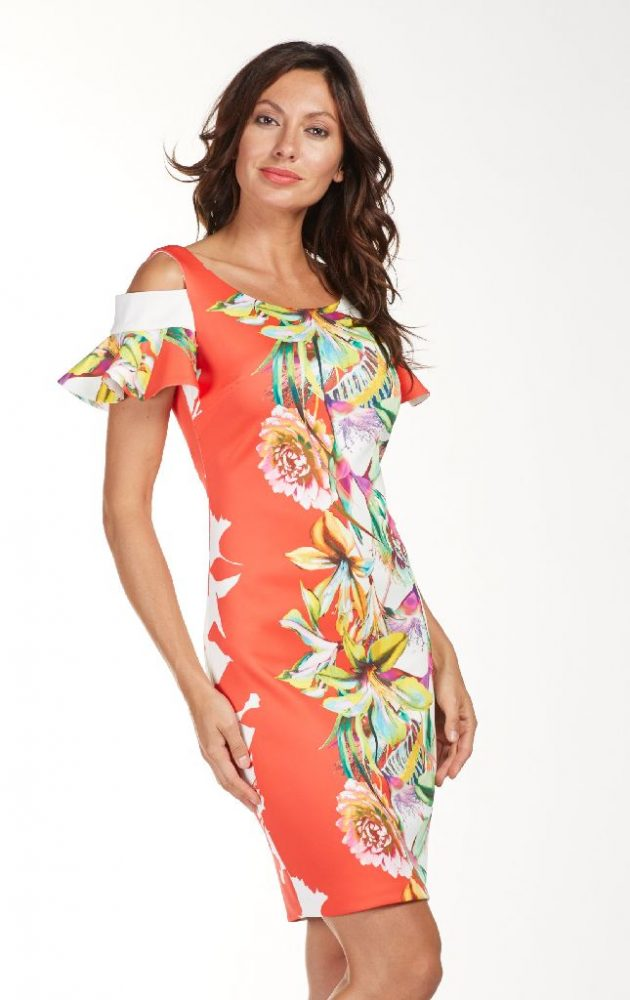 Frank Lyman 181432 Multi Floral Dress