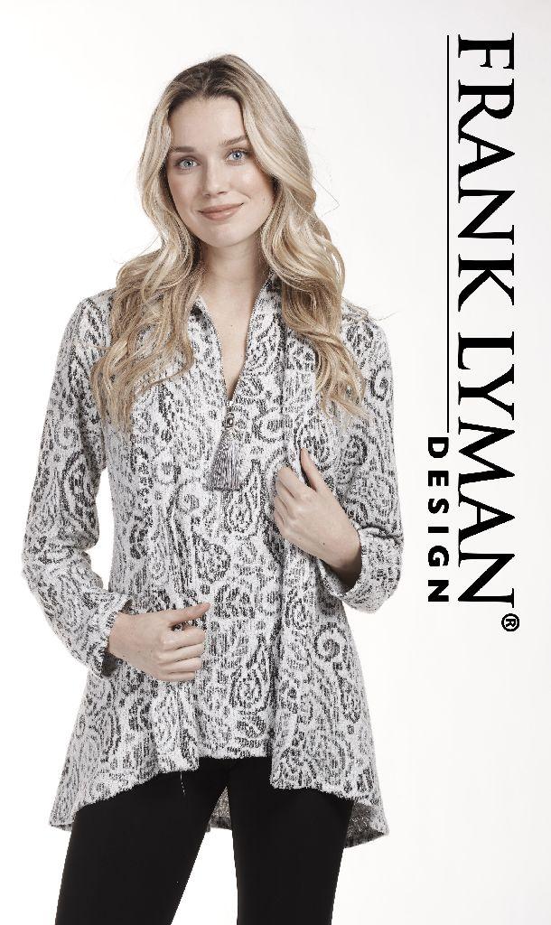 Frank Lyman 183692 Sliver/Grey Jacket