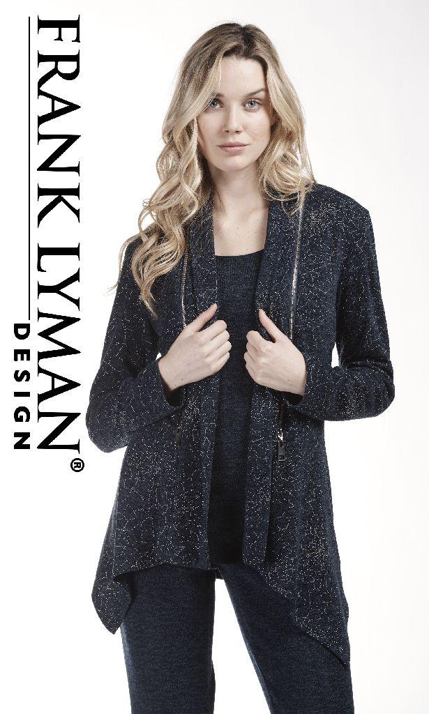 Frank Lyman 183708 Navy Sparkly Jacket