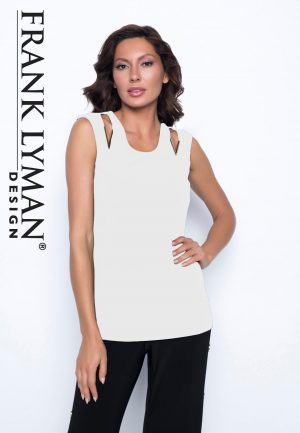 Frank Lyman 186080 Off White Camisole