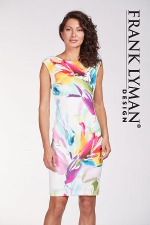Frank Lyman 186171 Multi Floral Dress