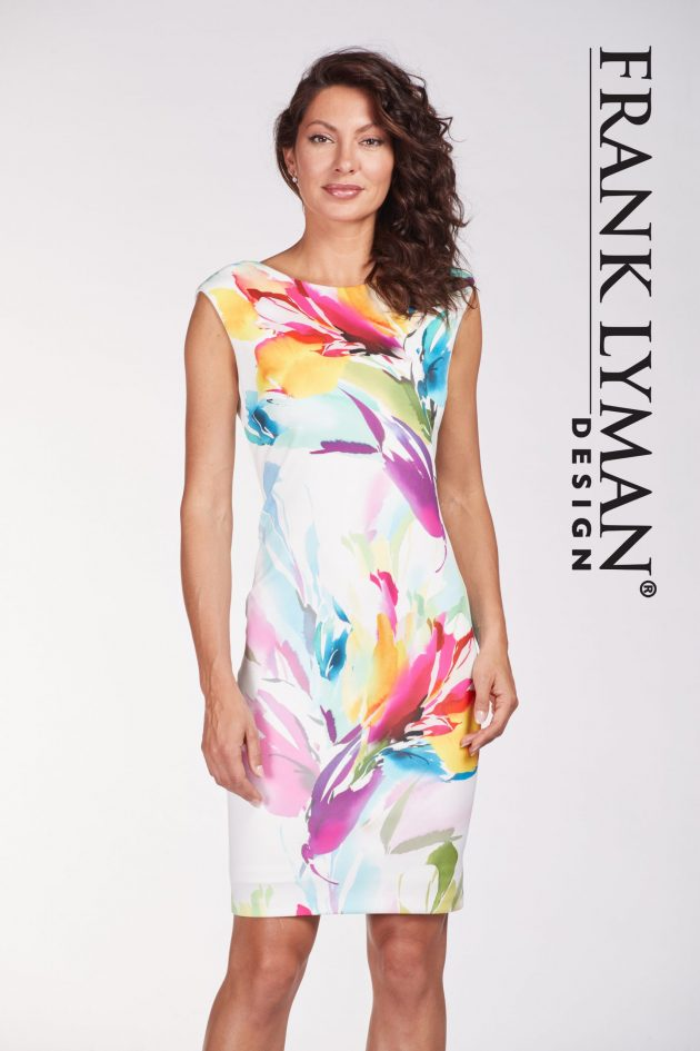 Frank Lyman 186171 Multi Floral Dress