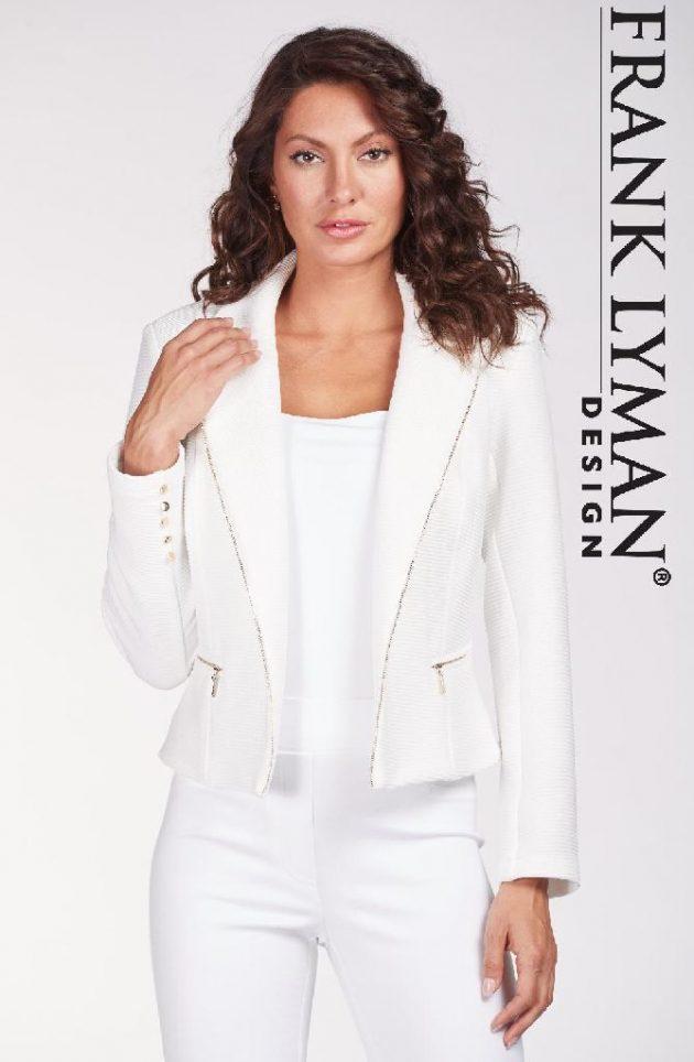 Frank Lyman 186507 Ivory Jacket