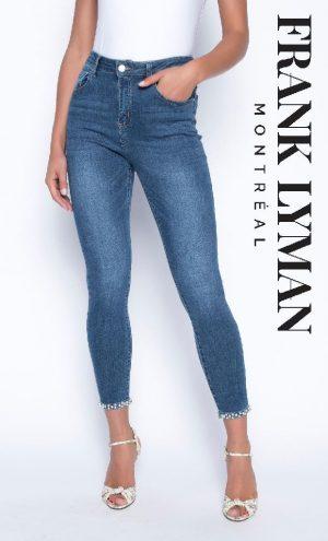 Frank Lyman 190117U Blue Jeans