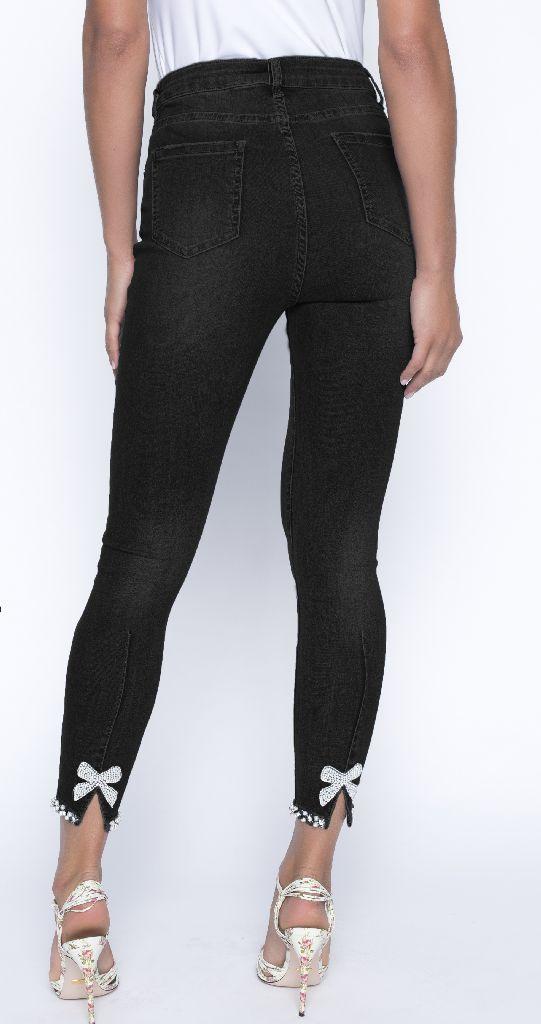 Frank Lyman 191116U Black Jeans