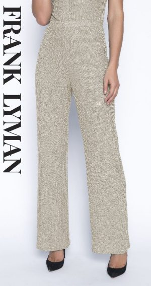 Frank Lyman 193517 Champagne/bronze trousers