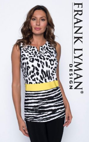 Frank Lyman 191470 Black/White Camisole