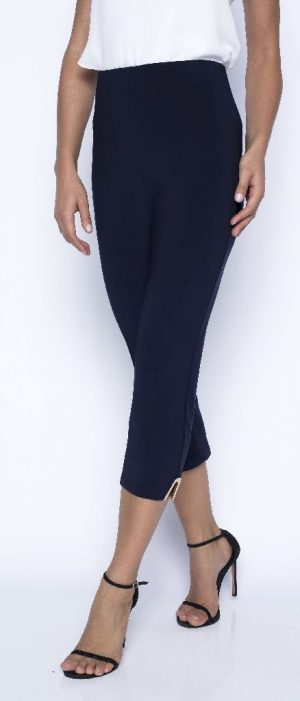 Frank Lyman 201005 Navy Cropped Trouser