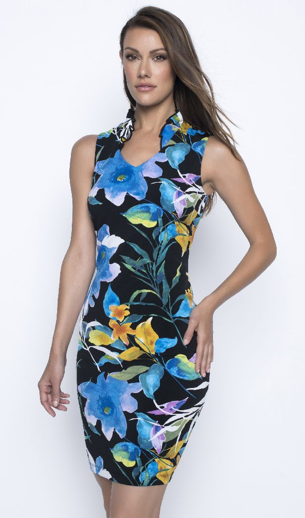 Frank Lyman 201295 Blues Dress