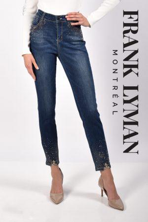 Frank Lyman 216113U Navy Diamante Jeans