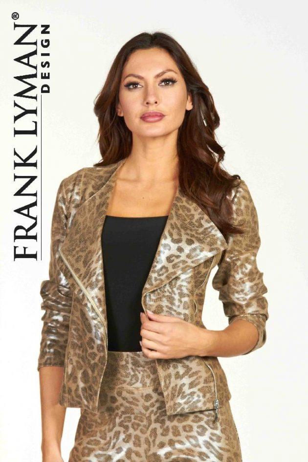 Frank Lyman 64281 Gilda Zip-Up Jacket