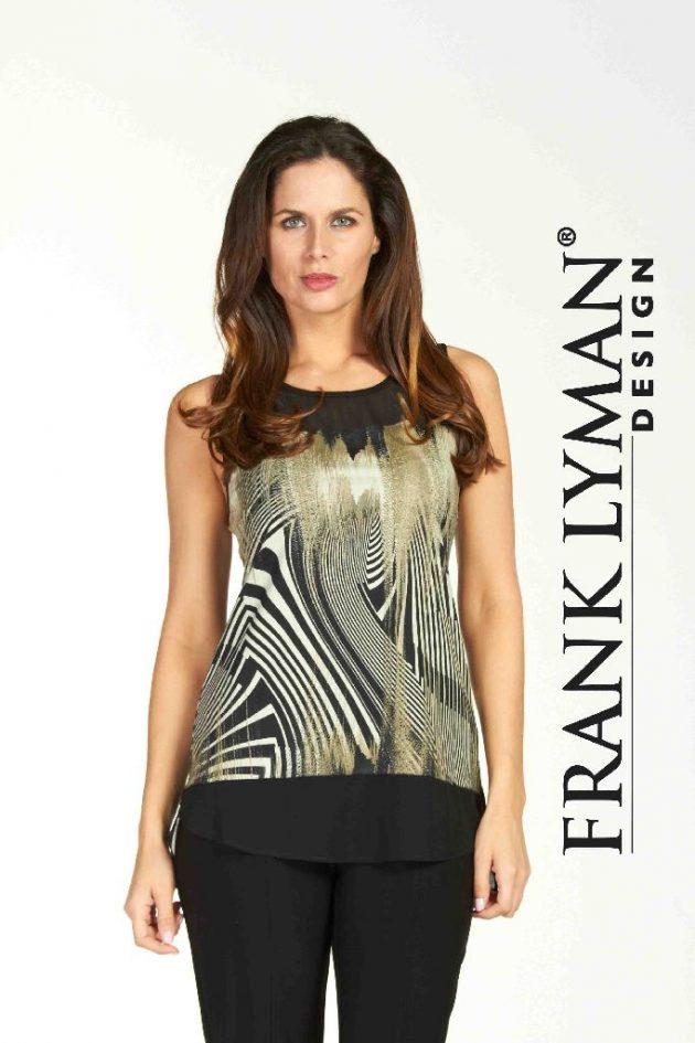 Frank Lyman 64298 Black Olive Camisole