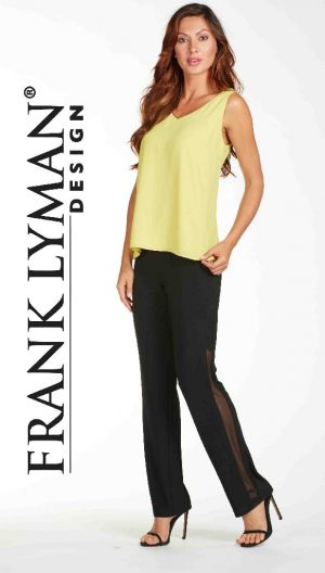 Frank Lyman 65074 Black Evening Trousers