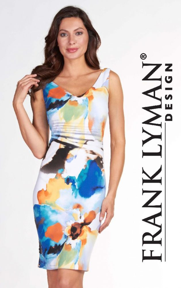 Frank Lyman 66224 Pastels Dress