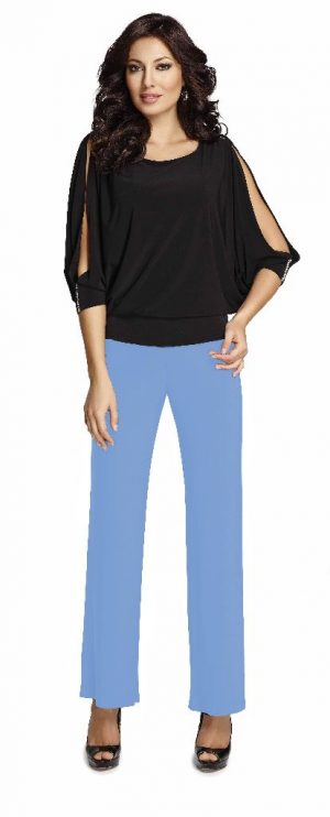 Frank Lyman 006 Pale Blue LooseTrousers