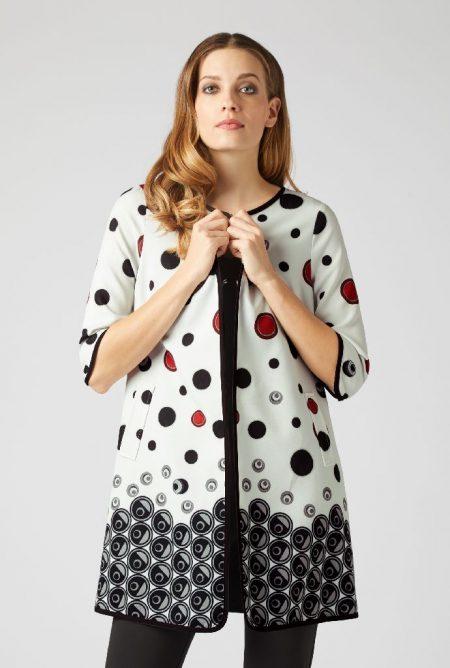 James Lakeland 8236-04 Spotted Dress