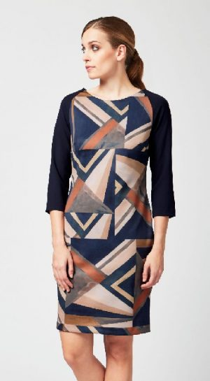 James Lakeland 8317-03 Geometric Design Dress