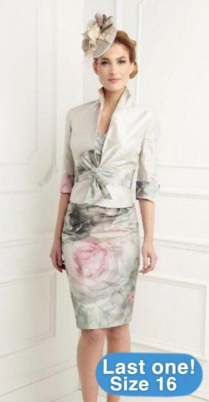 John Charles 25507A Haze dress & Bolero