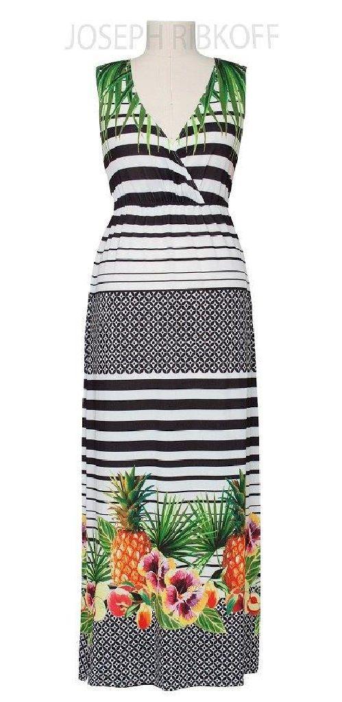 Joseph Ribkoff 152696 Long Summer Dress