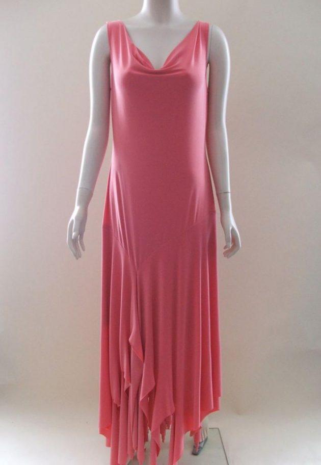 Joseph Ribkoff 60167 Peach Long Dress