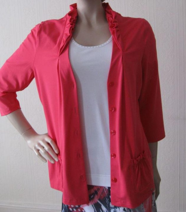 Lucia 422270 Coral Over Jacket