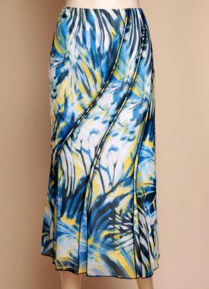 Lucia 42352 Blues Yellow White Skirt