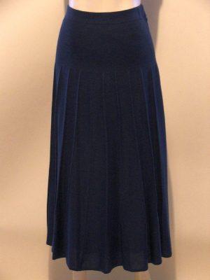 Lucia 413336 Navy Knitted Skirt