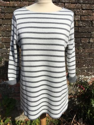 Maria Bellentani 5210 Reversible Grey Sweater