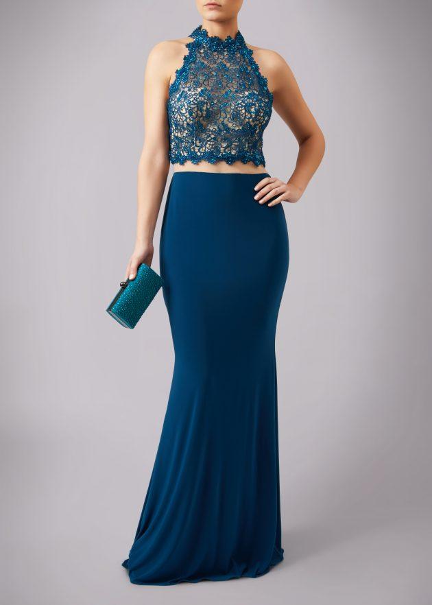Mascara MC1612019P Viridan Blue Dress