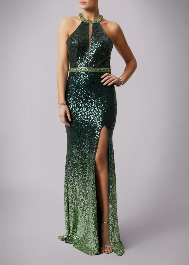 Mascara MC166105P Green Dress