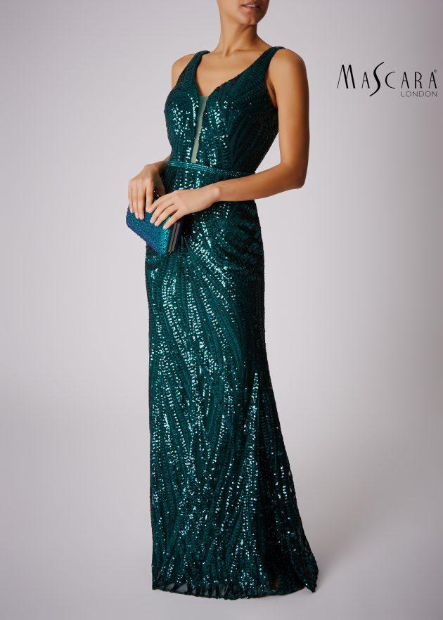 Mascara MC166131 Green Dress