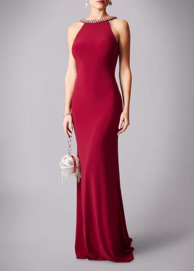 Mascara MC181193P Red Dress