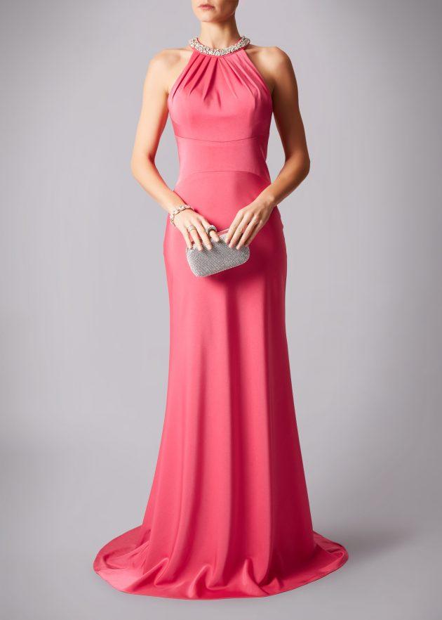 Mascara MC182148G Coral Pink Dress