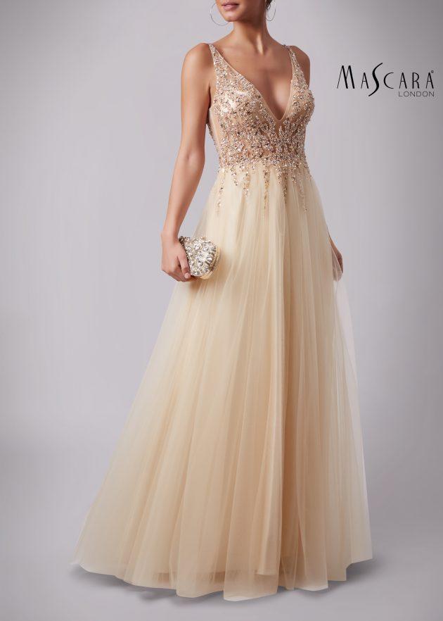 Mascara MC186017 Champagne Dress