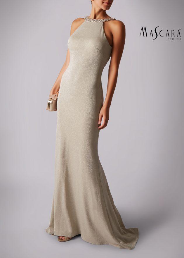 Mascara MC186041 Champagne Dress